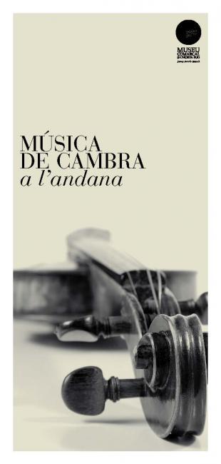 MÚSICA DE CAMBRA A L'ANDANA
